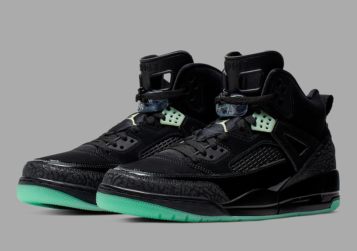 najnowszy buty do separacji ogromny zapas Jordan Spizike Green Glow 315371-032 Release Info ...