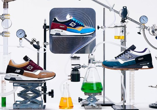 The New Balance Sample_Lab Capsule Experiments With The 1500x & 1530x