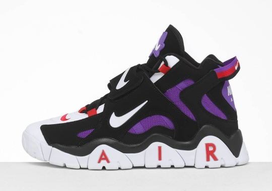 The Nike Air Barrage Returns For The First Time Since 1995