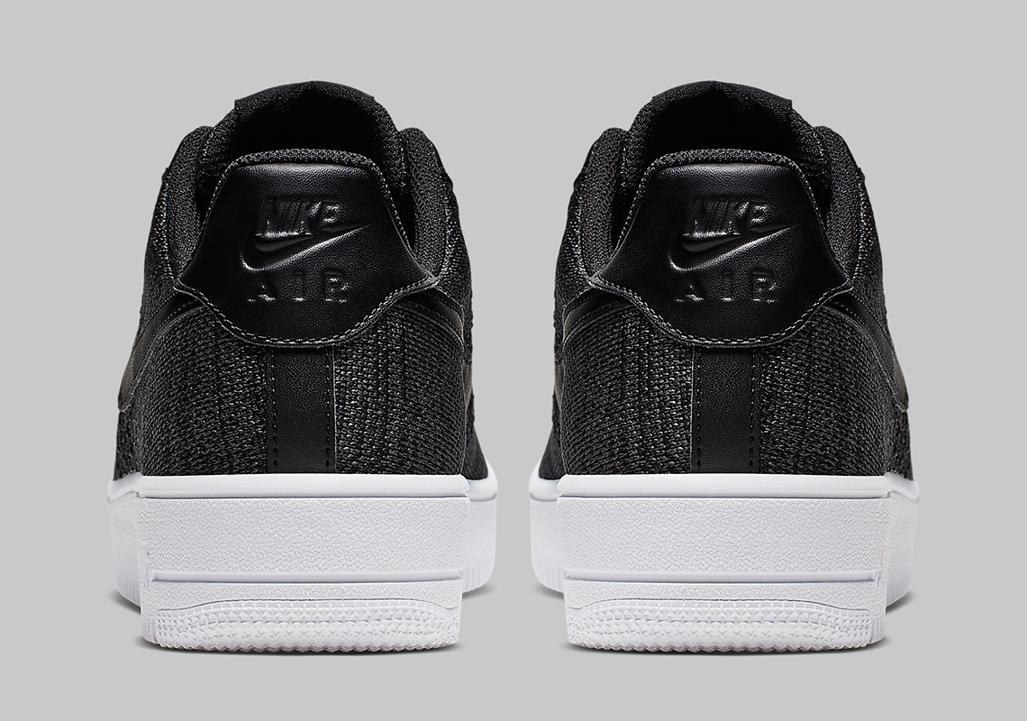 Nike Air Force 1 Flyknit 2.0 Black CI0051-001 | SneakerNews.com