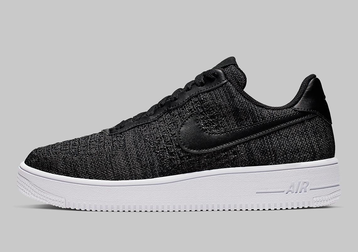 różne wzornictwo Los Angeles nowy produkt Nike Air Force 1 Flyknit 2.0 Black CI0051-001 | SneakerNews.com