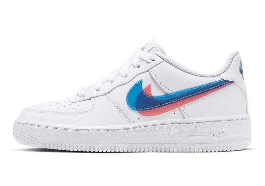 These Nike Air Force 1s Require 3D Glasses
