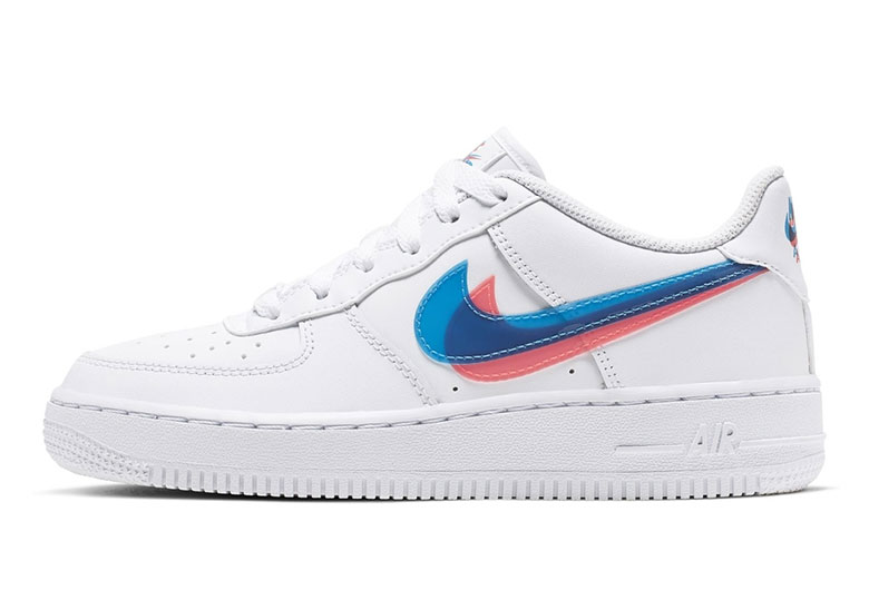 8ee690097 Nike Air Force 1 Low 3D Swoosh GS Release Info | SneakerNews.com