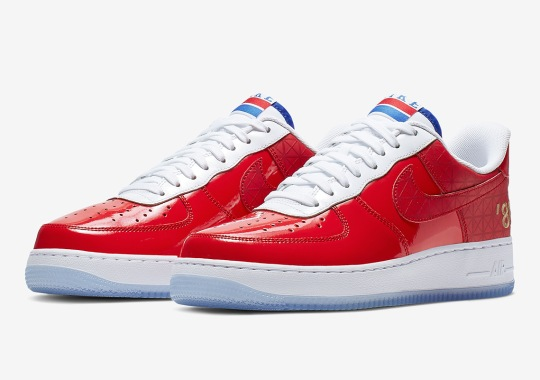 Nike Remembers Detroit's 1989 NBA Title With Special Air Force 1s