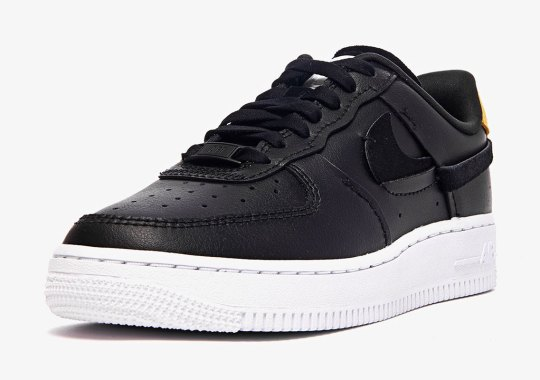 """The Nike Air Force 1 Low """"Inside Out"""" In Black Drops In August"""