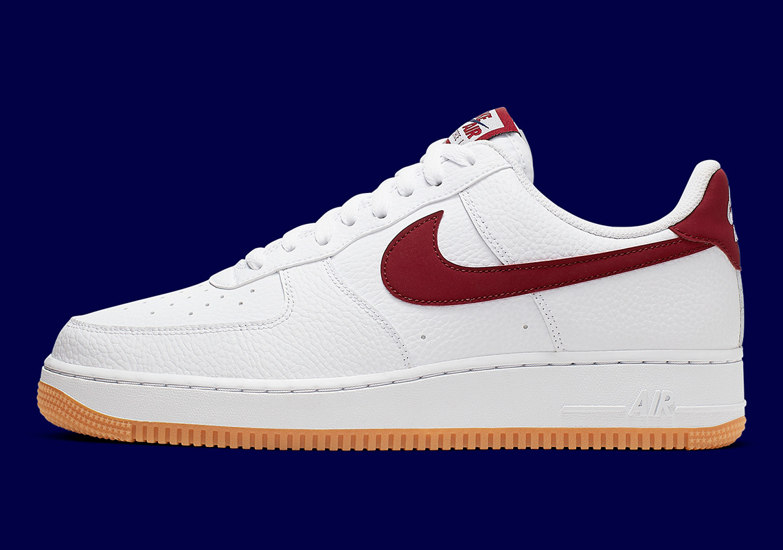 Nike Air Force 1 Low White Gum Blue Void Ci0057 101 Sneakernews Com