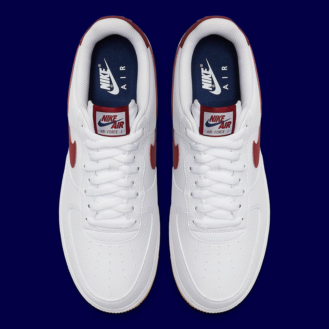 Nike Air Force 1 Low White Gum Blue Void CI0057 101