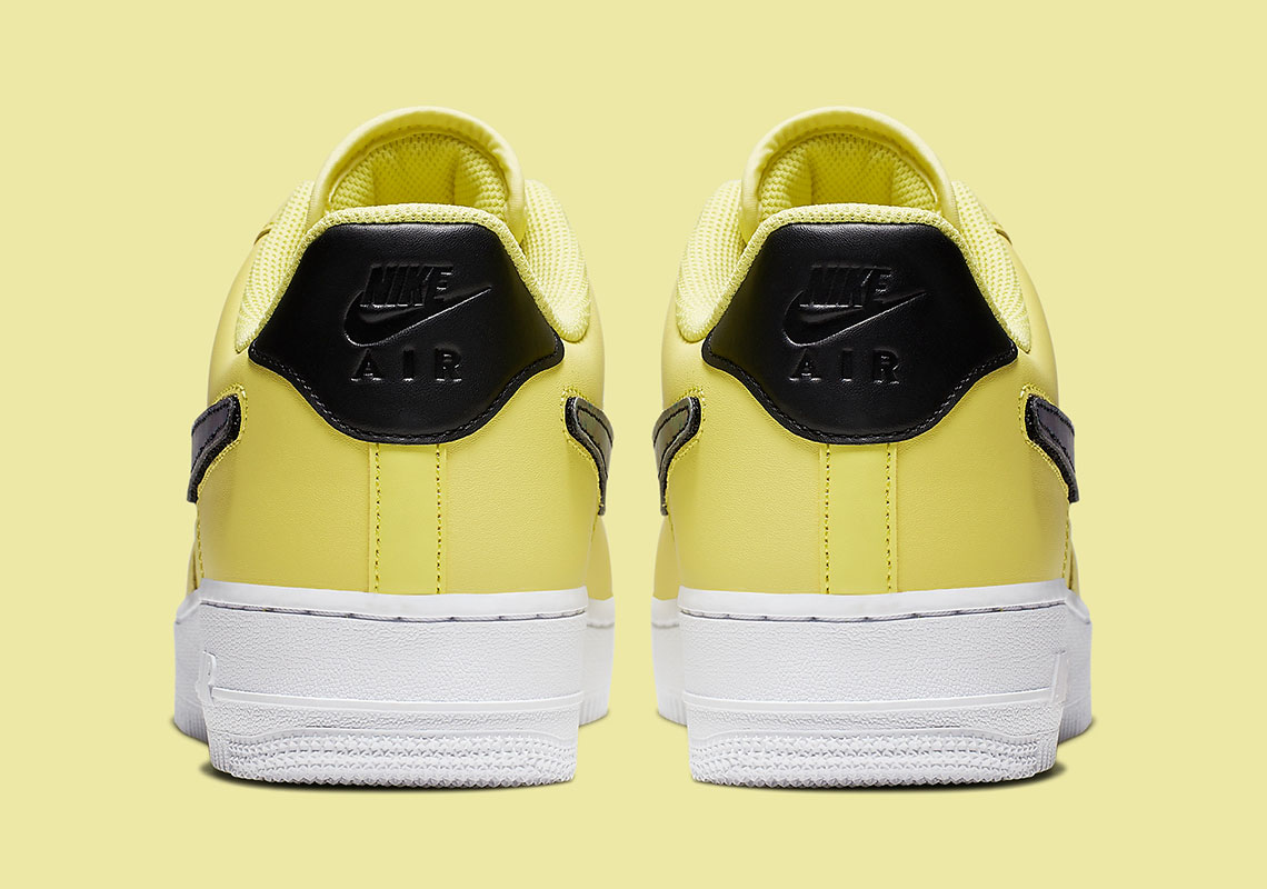 42ce725d58083 Nike Air Force 1. Color: Yellow Pulse/Black-White-White Style Code:  CI0064-700