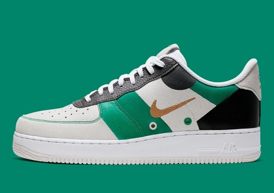 Is This Newly Colorblocked Air Force 1 Inspired By Tennis?