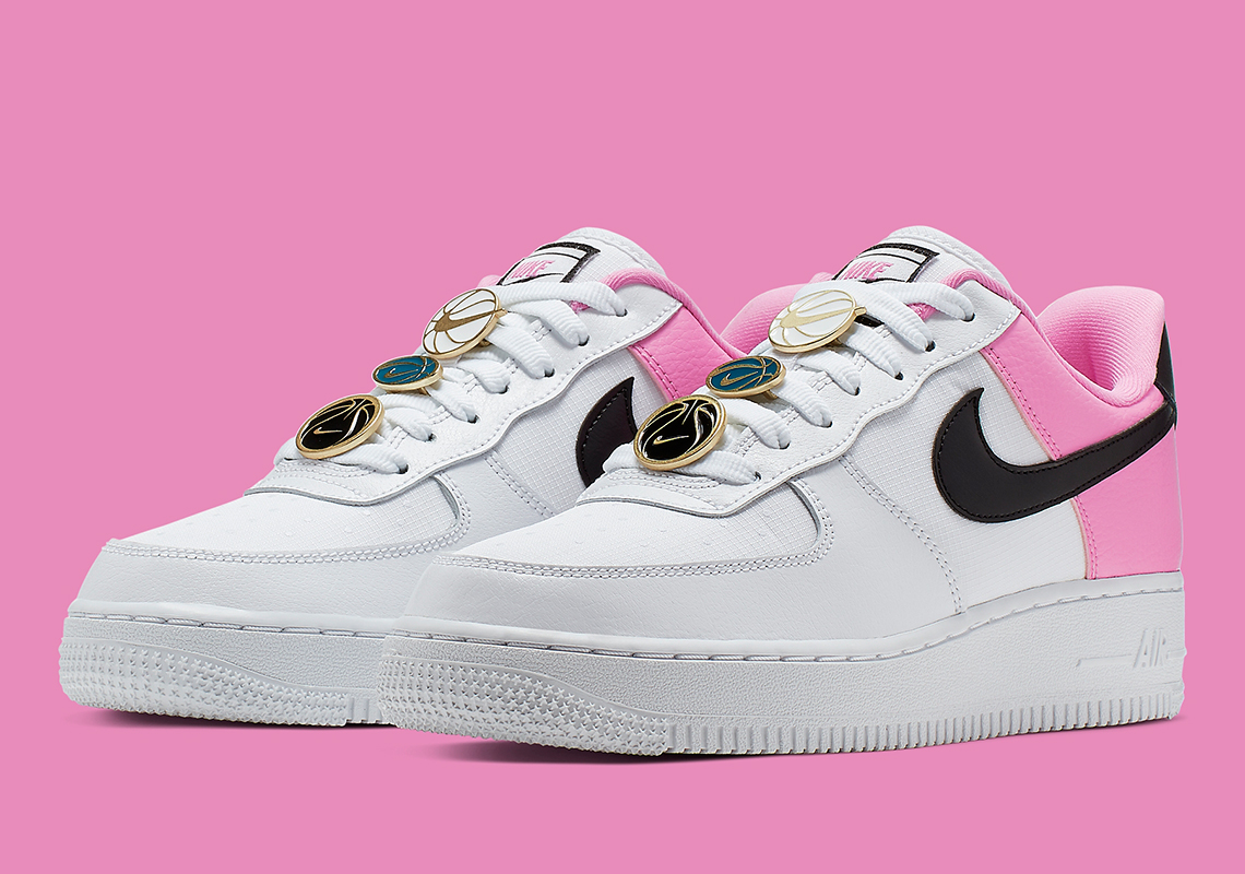 Nike Air Force 1 White Pink Black AA0287-107 Store List | SneakerNews.com
