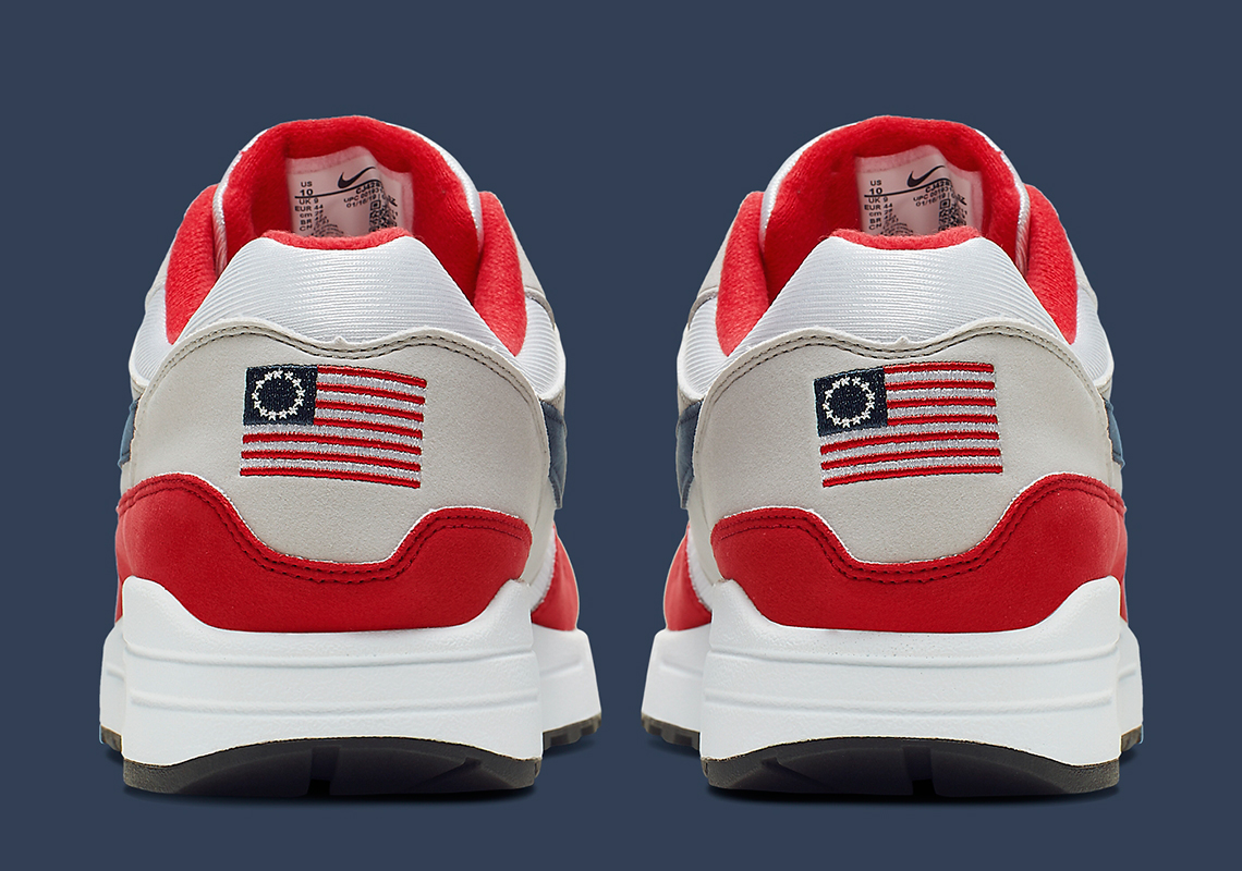 Evento Omitido ambiente  Nike Air Max 1 USA Flag Independence Day CJ4283-100 Release Date |  SneakerNews.com