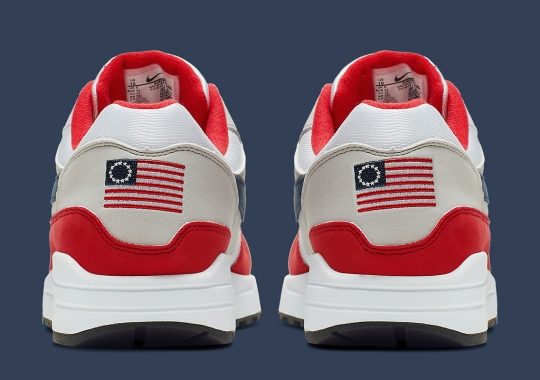 This Nike Air Max 1 For Independence Day Honors The Betsy Ross Flag