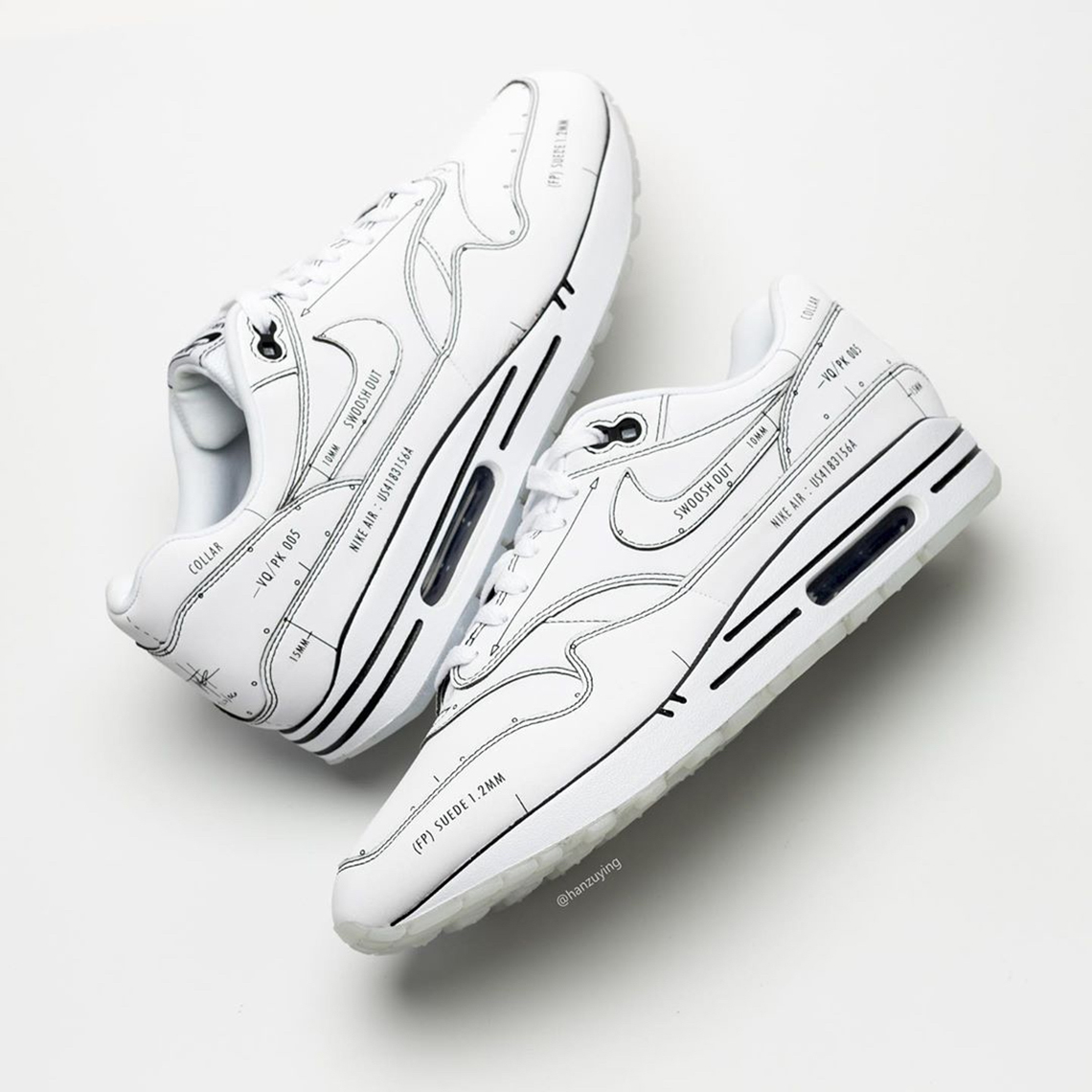 air max 1 schematic resell price falling
