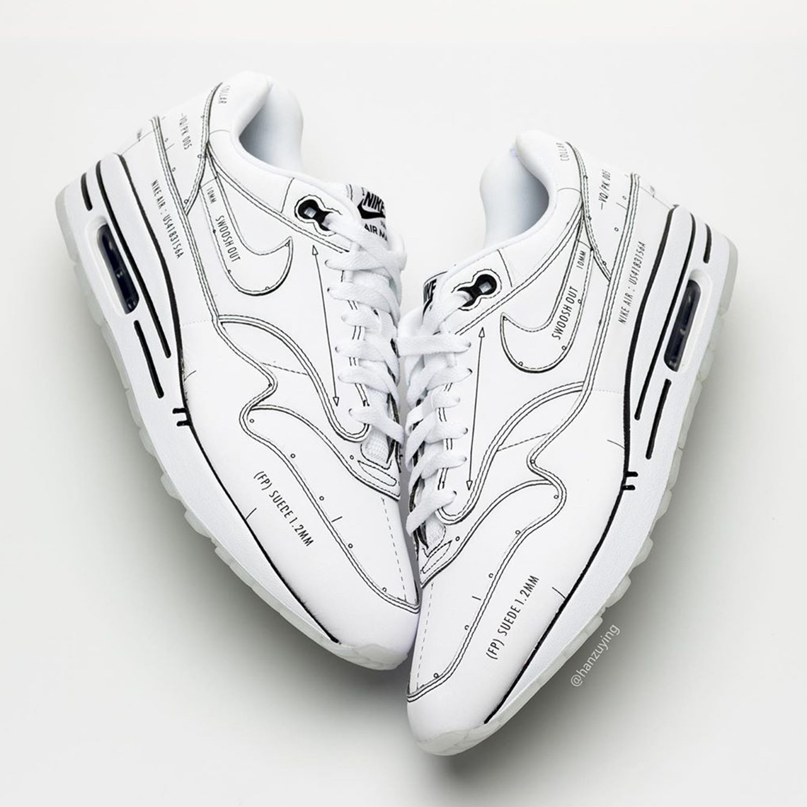 The Nike Air Max 1 Pays Homage to a Surprising Creator