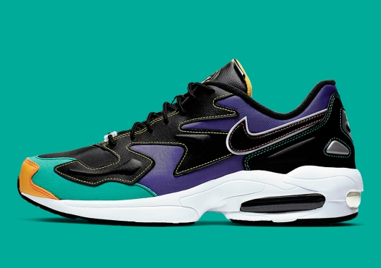 Contrast Stitching Galore On This Upcoming Nike Air Max 2 Light