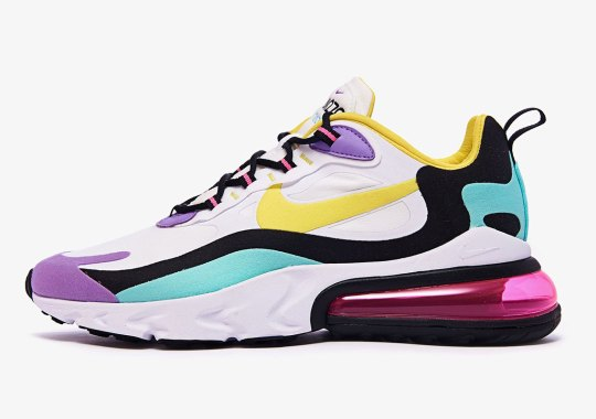 """The Nike Air Max 270 React """"Bright Violet"""" Releases On September 5th"""