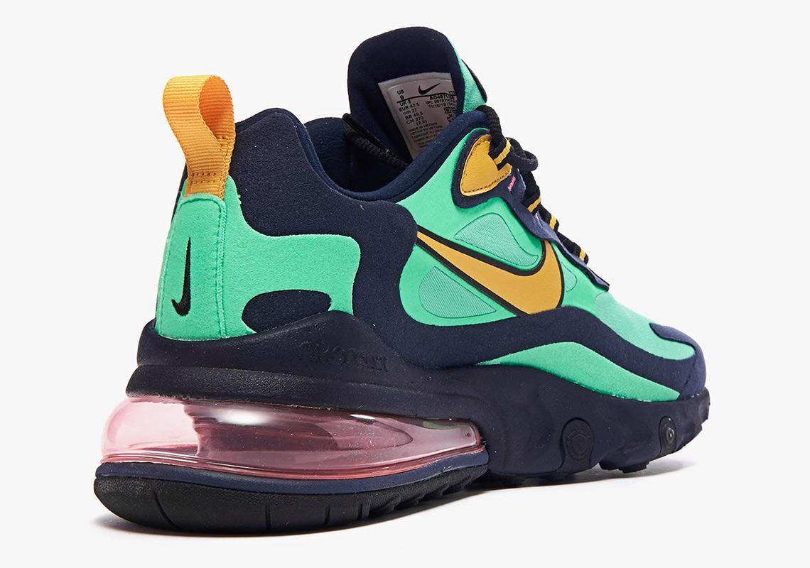 Nike Air Max 270 React AO4971 300 Electro Green Obsidian