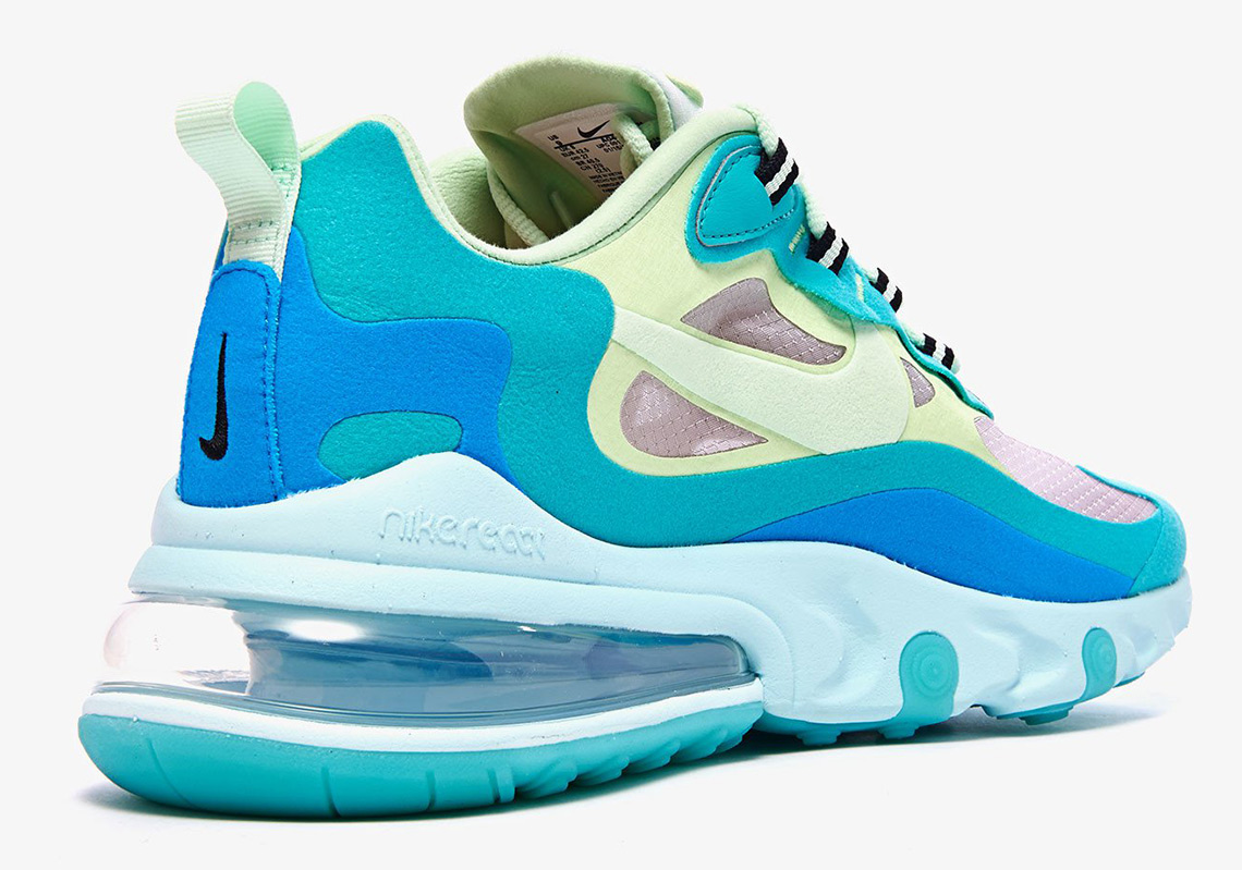 Nike Air Max 270 React (Hyper Jade Frosted Spruce Barely Volt)