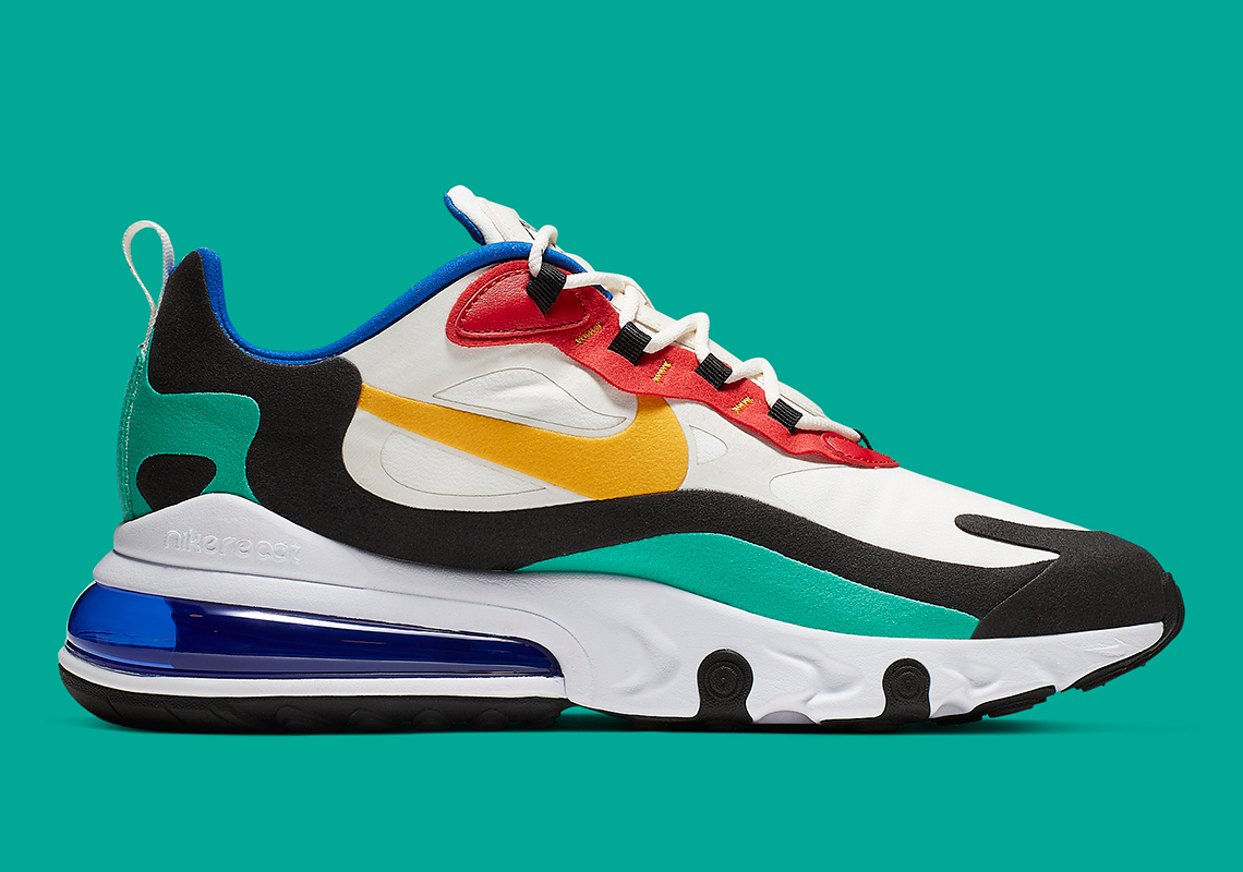 sports shoes 73525 9bc56 Nike Air Max 270 React Bauhaus AO4971-002 Release Date ...