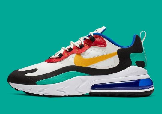 """Where To Buy The Nike Air Max 270 React """"Bauhaus"""""""