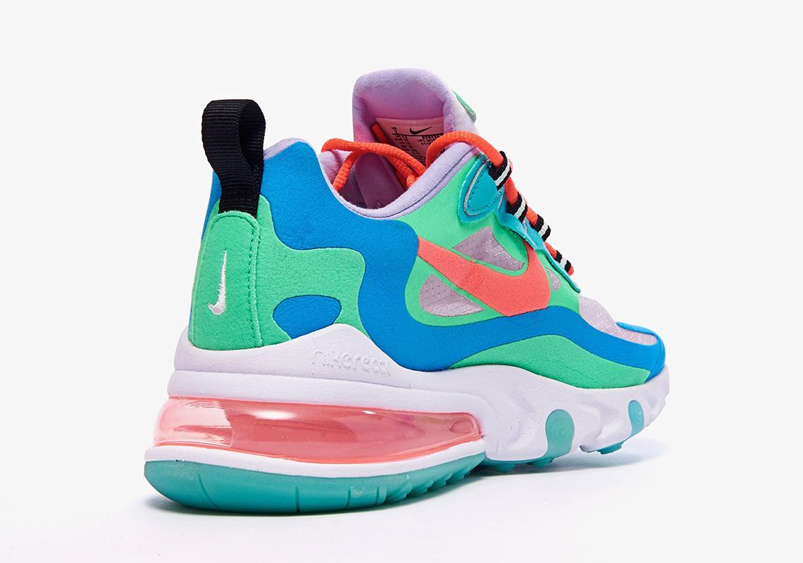 "Nike Air Max 270 React ""Blue Lagoon"" será lançado em julho 2"