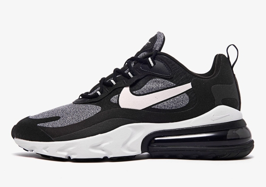 d1861a55f8 The Nike Air Max 270 React In Black And Off Noir To Release In Unisex Sizes