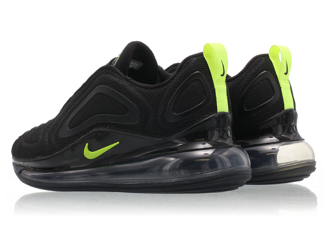 Nike Air Max 720 Black/Volt CD7626-001 Release Info ...