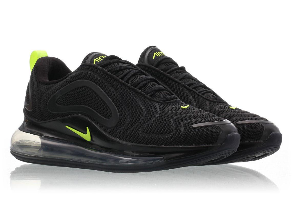 Nike Air Max 720 BlackVolt CD7626 001 Release Info
