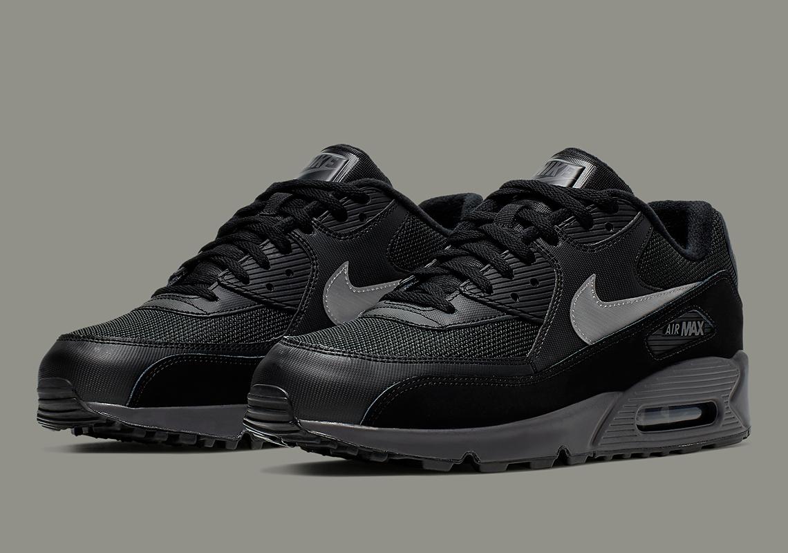 Nike Air Max 90 Essential White Black Silver