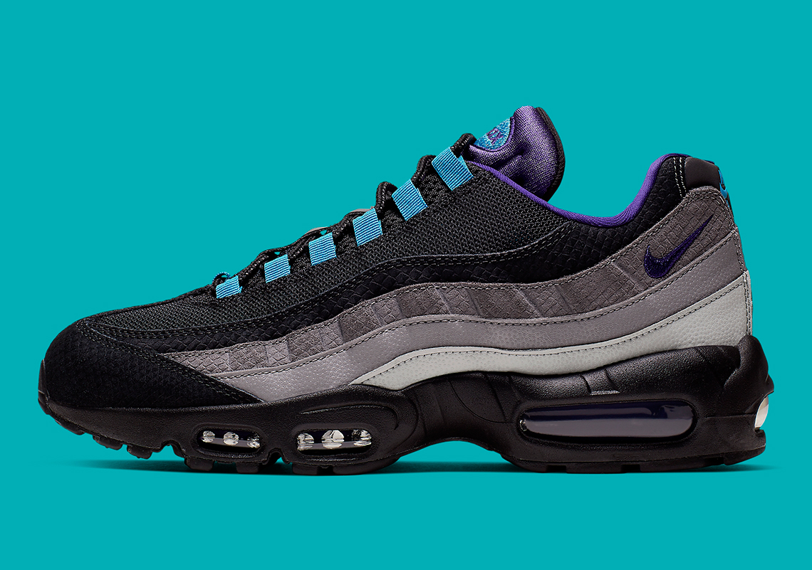 Look Out For The Nike Air Max 95 Blue Nebula •