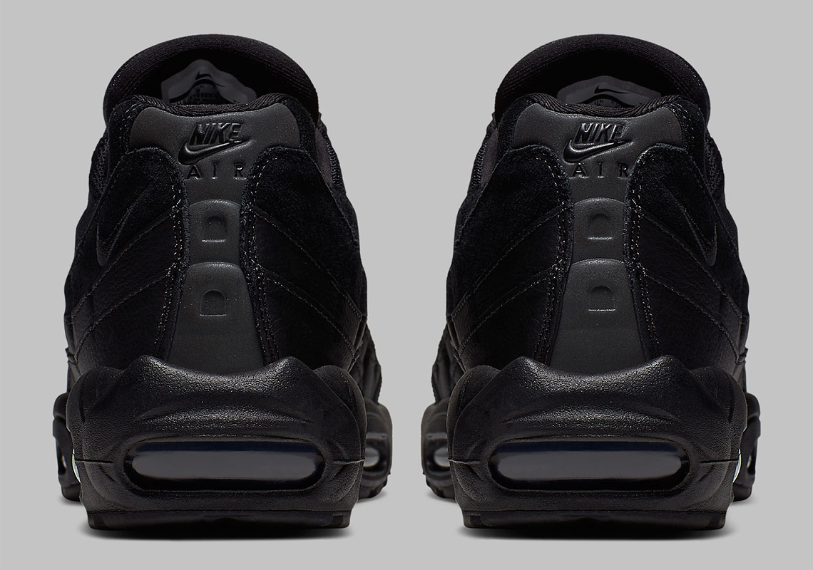 a68f23f111 Nike Air Max 95 Black White AT9865-001 Release Info | SneakerNews.com
