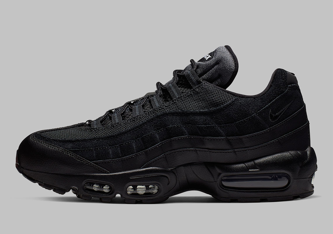san francisco eb21f 78127 Nike Air Max 95 Black White AT9865-001 Release Info ...