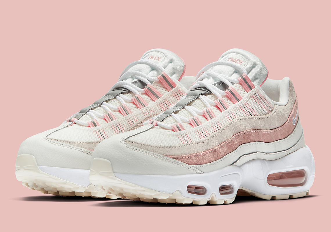 sale for whole family classic shoes Nike Air Max 95 Bleached Coral 307960-116 Release Info ...