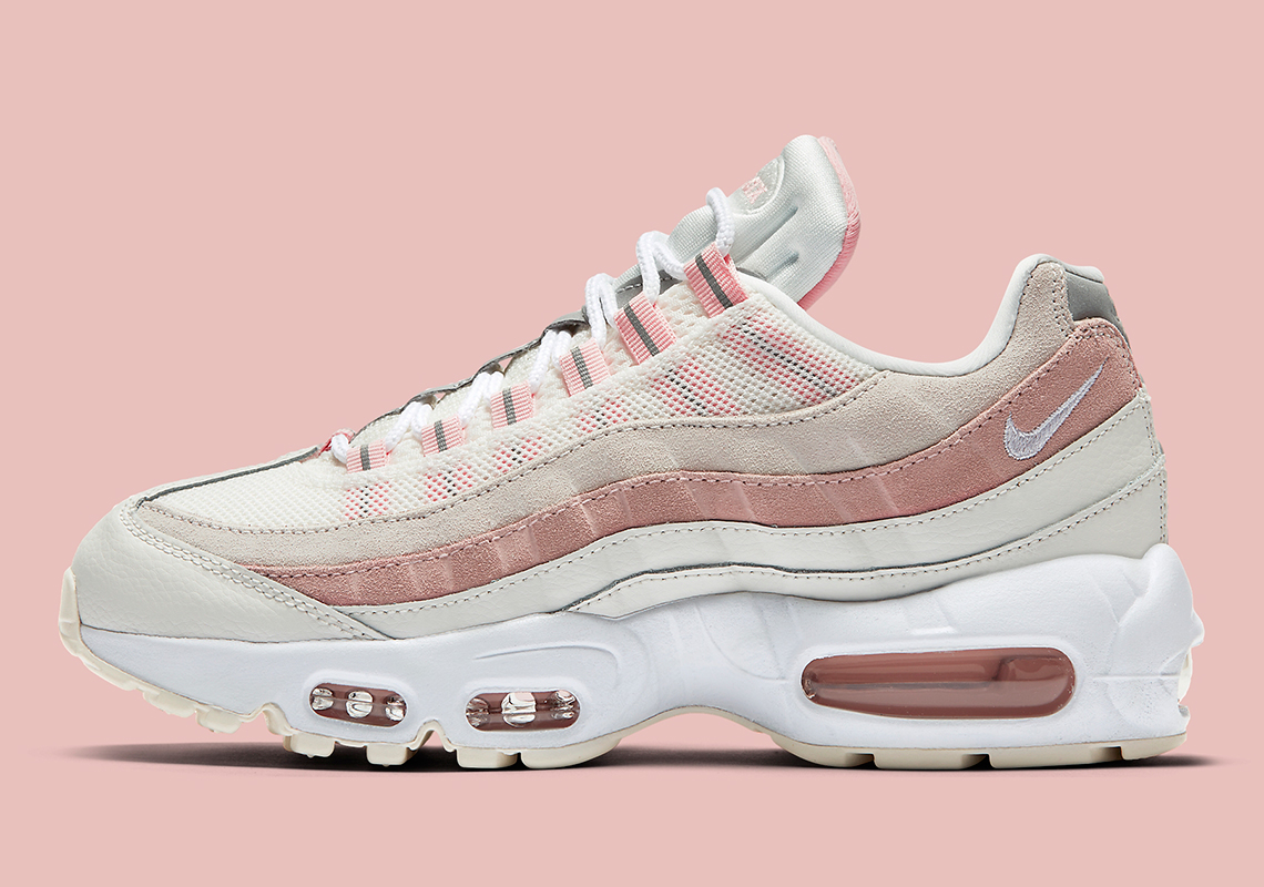 The Nike Air Max 95 For Women Arrives In Bleached Coral