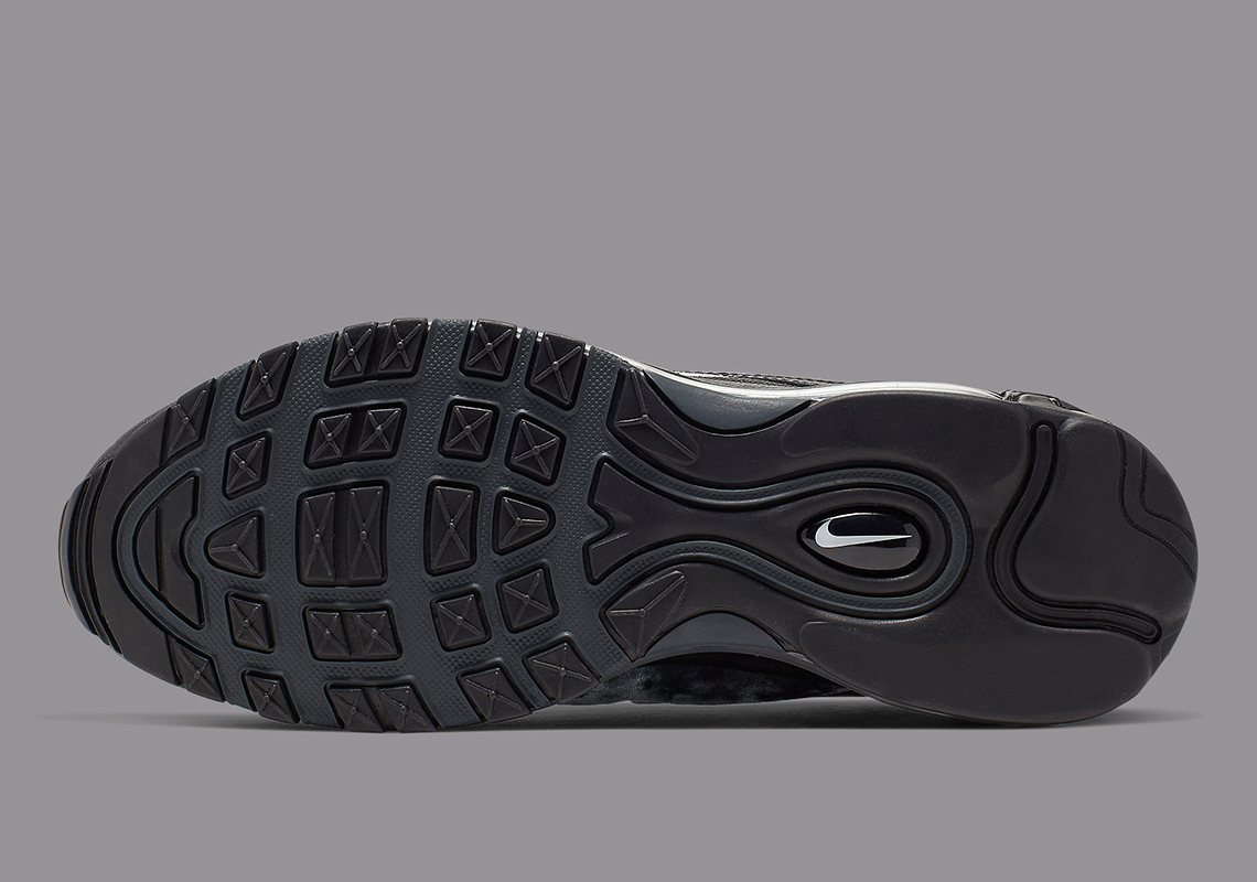Nike Air Max 97 To Drop In Stealthy Black Colorway: Official