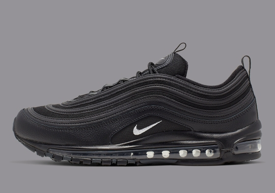 premium selection 0b80c ce0b3 The Nike Air Max 97 Arrives In A Stealthy Black And Anthracite