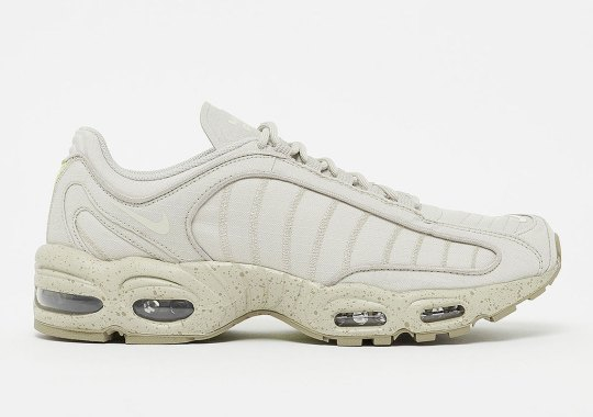The Nike Air Max Tailwind 4 SP In Nylon Gets Sandtrap Beige Uppers