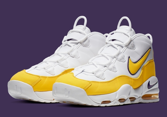 "Derek Fisher's Nike Air Max Uptempo ""Lakers"" Is Coming Soon"