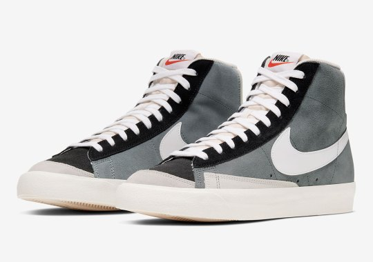 The Nike Blazer Mid 77 Vintage Returns In Monochrome Color Blocking
