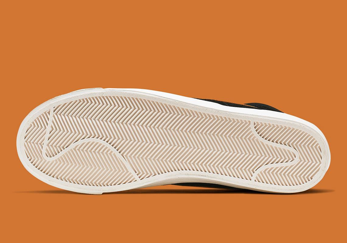 Nike Blazer Mid '77 Vintage (Black Orange) CJ9693 001