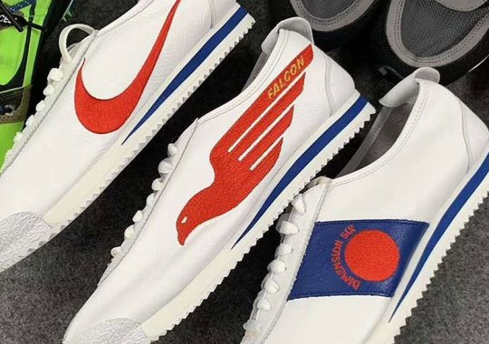 "Phil Knight's Nike Cortez ""Shoe Dog"" Pack Features Three Alternate Logos"