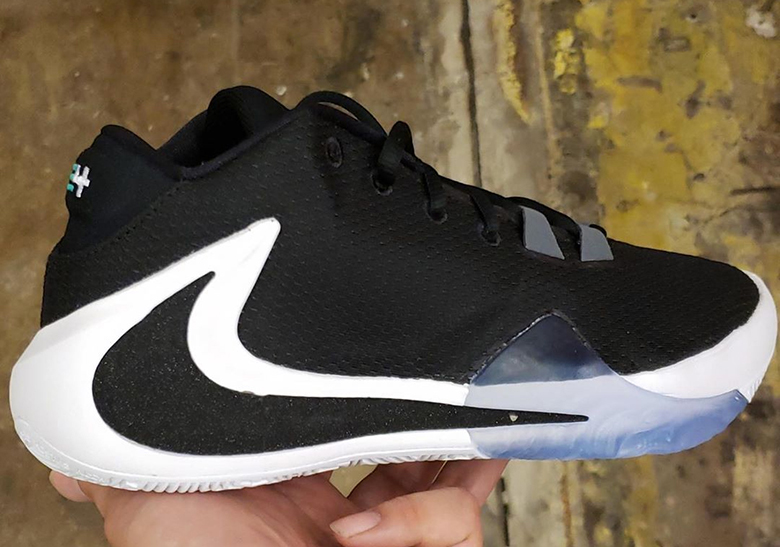 Giannis Antetokounmpo Nike Freak 1 Black White Release Date | SneakerNews.com