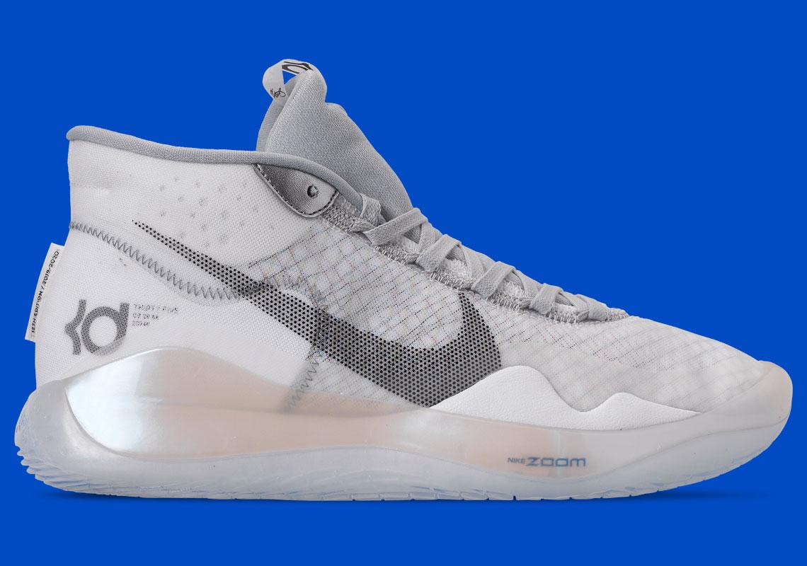 Nike KD 12 Wolf Grey AR4229-101 Release
