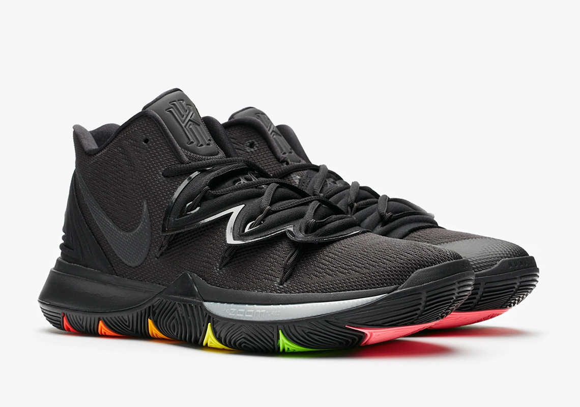 Nike Kyrie 5 Rainbow Soles AO2918 001 Release Date