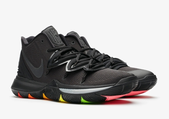 This Nike Kyrie 5 Features Rainbow Soles