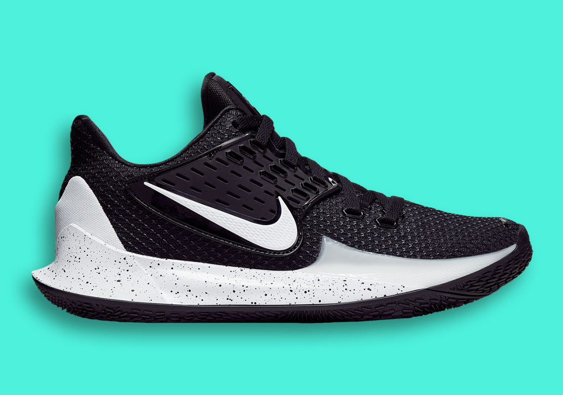 sports shoes 4ca8e f51fc Nike Kyrie Low 2 Black White Release Info | SneakerNews.com