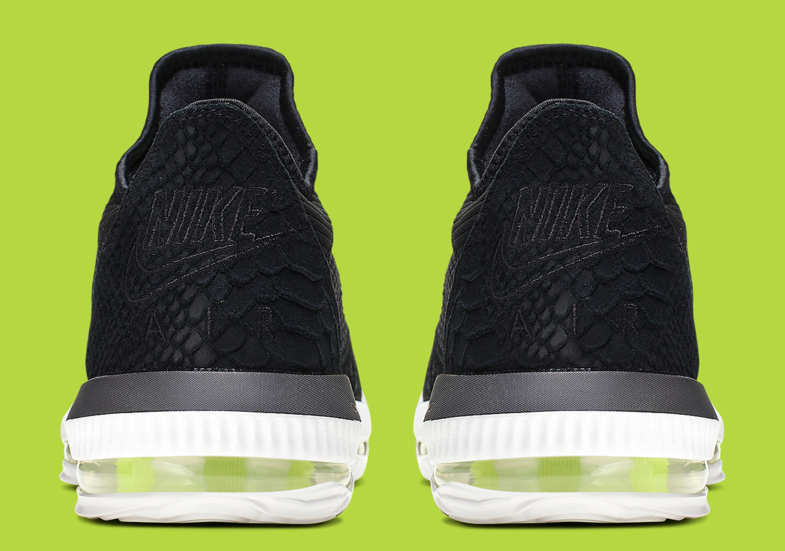 "Nike LeBron 16 Low ""Black Python"" Coming Soon: Official Details"