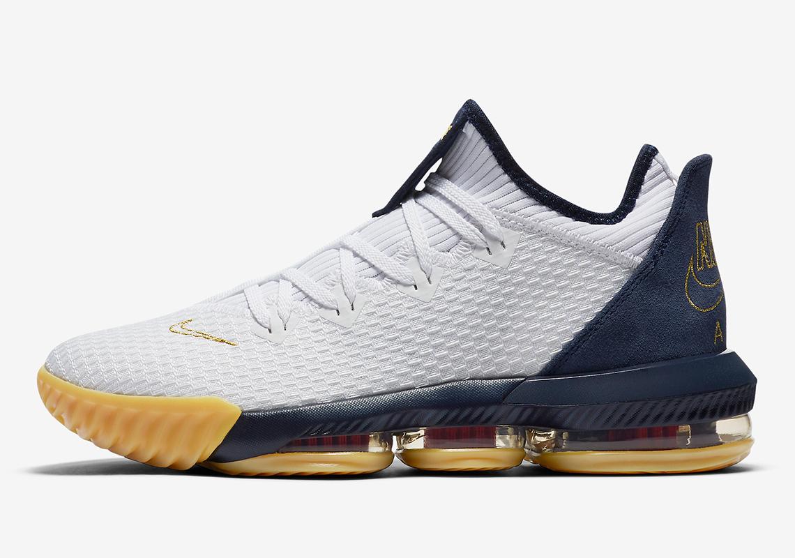 Nike LeBron 16 Low Team USA CI2668-101