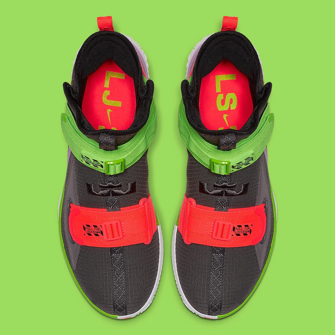 online store cbdc7 f3648 Nike LeBron Solder 13 Thunder Grey AR4228-002 Release Date ...