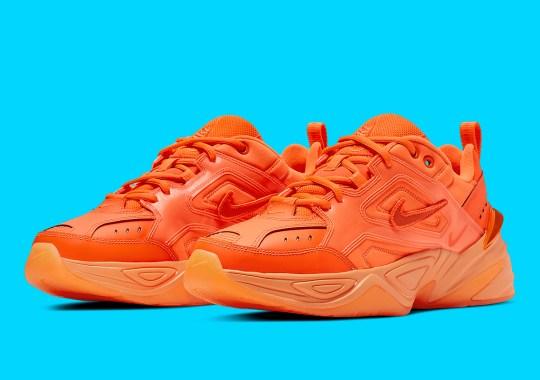 The Nike M2K Tekno Gel Goes Full Orange